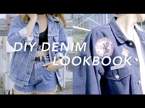 DIY Denim Lookbook
