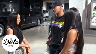 Randy Orton & The Bella Twins talk about Birdie and babies at SummerSlam!