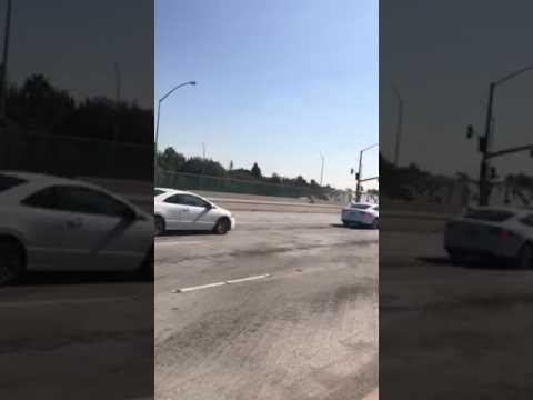 Freeway central city Santa Ana