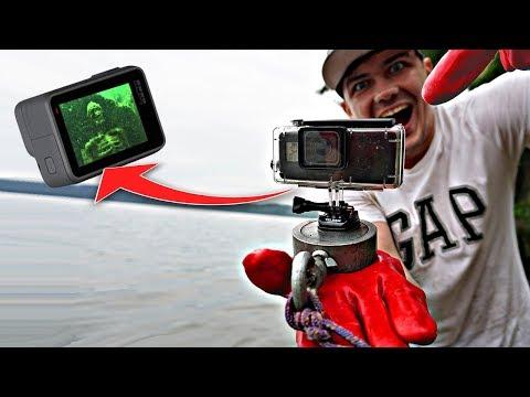 Что будет, если прикрепить GoPro к поисковому магниту