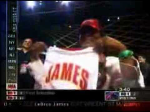 Lebron James 2003 Nba Draft 1st overall