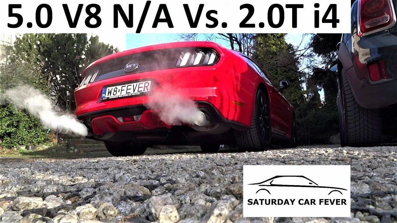 2.0 TURBO inline 4 Vs. 5.0 V8 N/A – MINI JOHN COOPER WORKS Vs. Ford Mustang GT