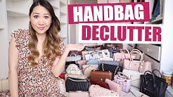 Cutting down my 79 LUXURY BAG Collection! *HUGE* Declutter!