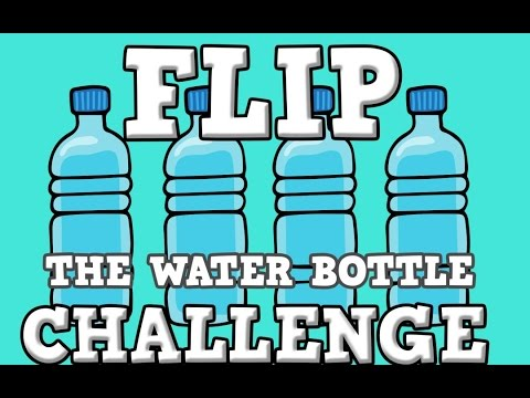 bottle flip flaska