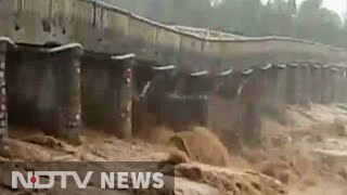 Caught on camera: 44-year-old bridge collapses in Himachal after heavy rain