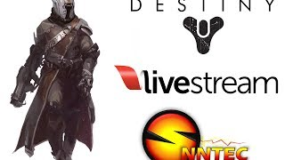 Destiny Alpha Live Stream pt1 - Warlock Gameplay Exploring the hype!
