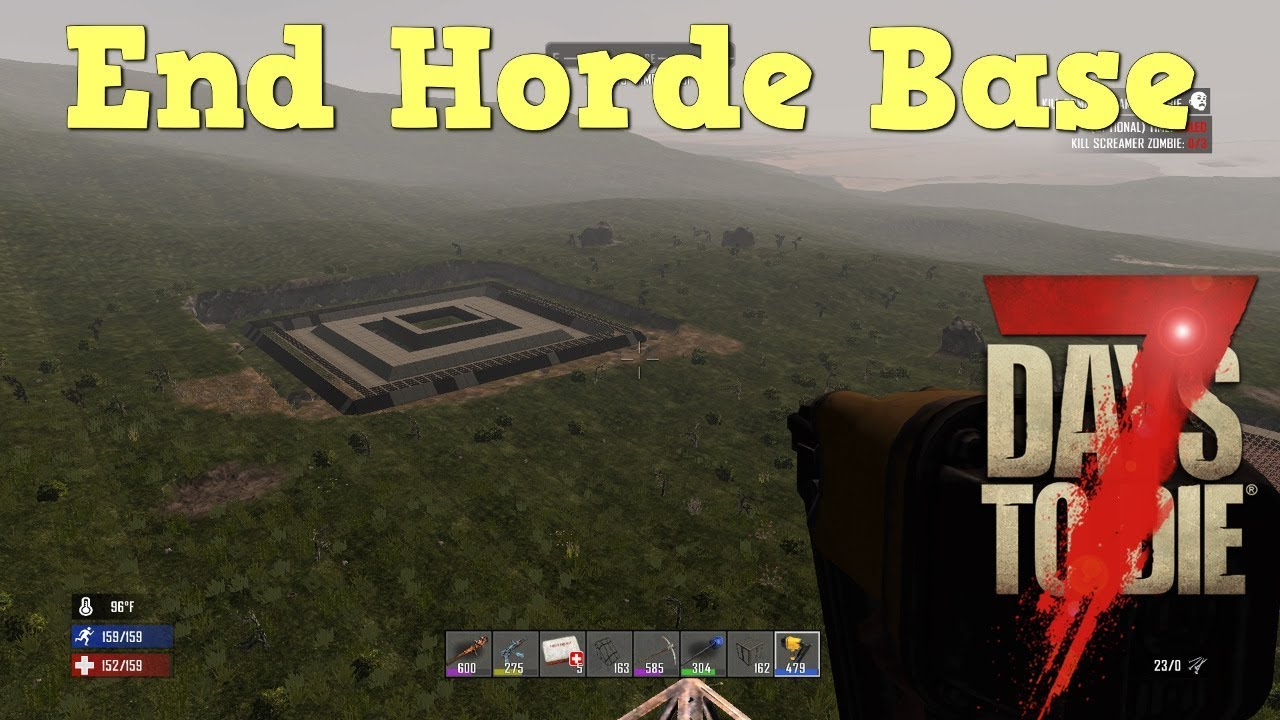 7 days to die ps4 end horde base pt 1 s2 ep49 youtube for Cocinar en 7 days to die ps4