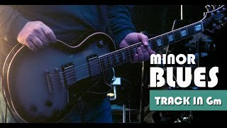 Celestial Slow Minor Blues Guitar Backing Track Jam in Gm
