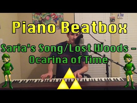Piano Beatbox: Saria's Song/Lost Woods - Ocarina of Time (Zelda)