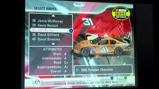 All NASCAR 08 Drivers/Cars/Paint Schemes (Nextel Cup)
