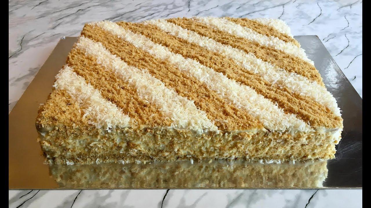 как сделать вкусный торт из печенья