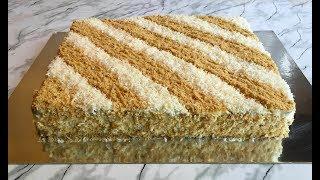 Торт БЕЗ ВЫПЕЧКИ из Печенья(Обалденно Вкусный)/Торт из Печенья/Without Baking Cake/Простой Рецепт
