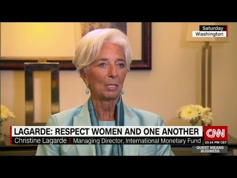 Lagarde: Respect women and one another