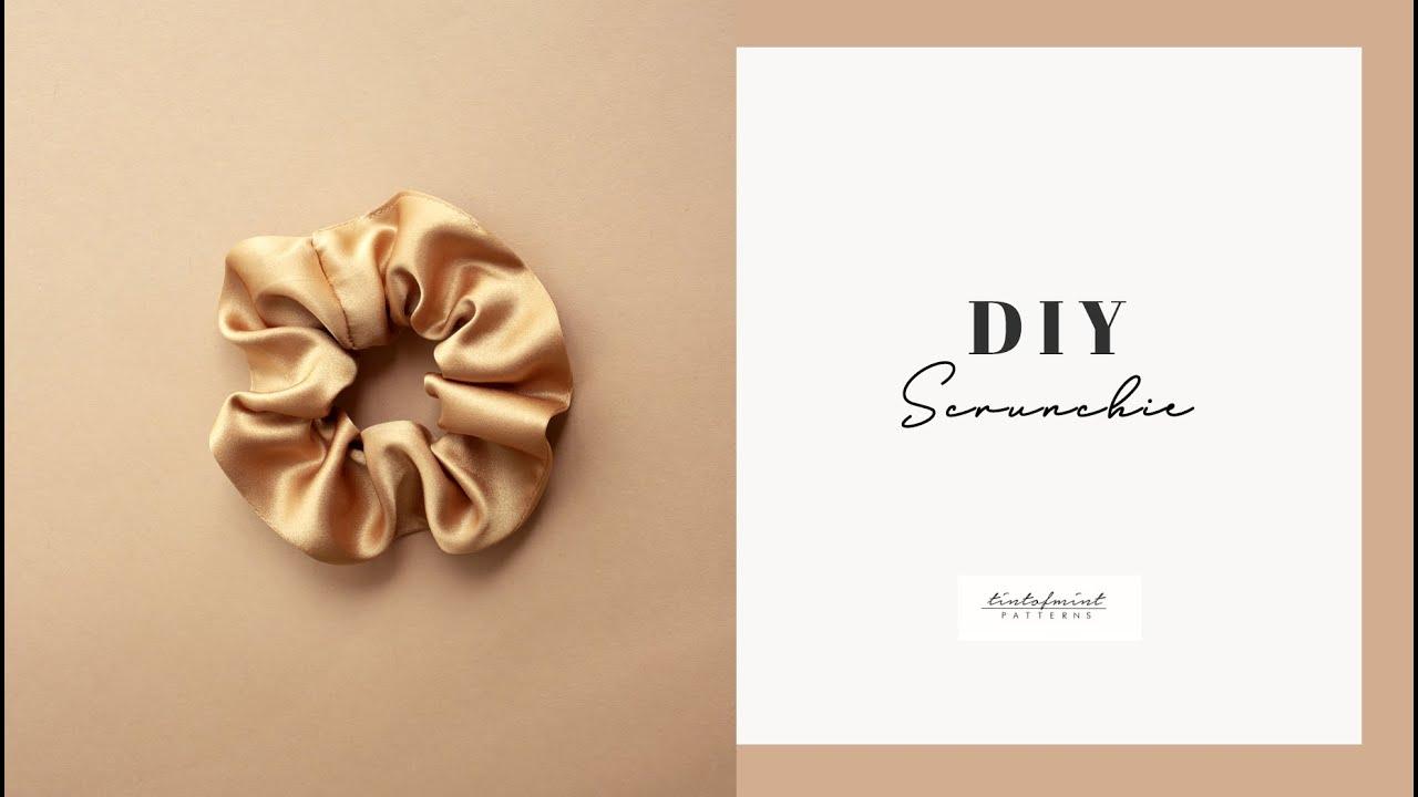 Download DIY Satin Scrunchie - tintofmintPATTERNS
