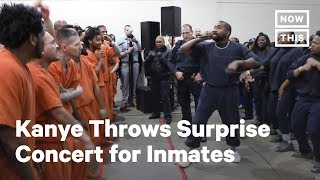 Kanye West Gives Surprise Concert At Harris County Jail | NowThis