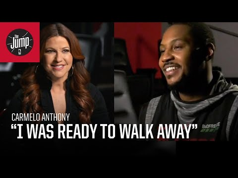 Carmelo Anthony on The Jump with Rachel Nichols, return to NBA, joining the Trail Blazers