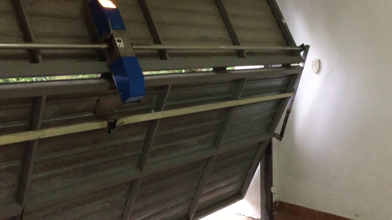 Bi Fold Garage Door Youtube