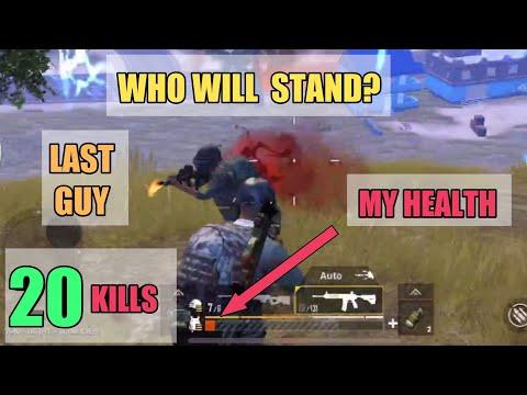 Last Man Standing | SOLO SQUAD | 20 KILLS | PUBG Mobile