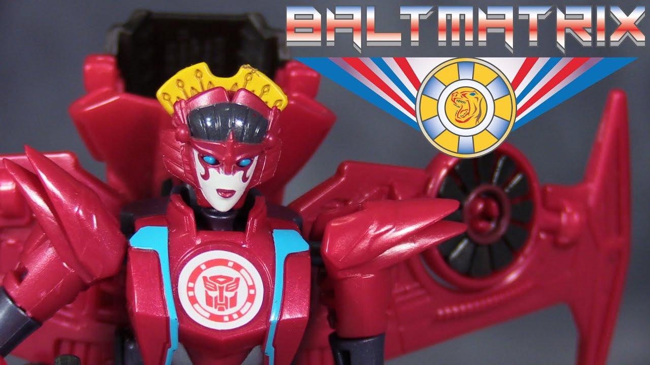 Transformers Robots in Disguise Warrior Class Windblade Combiner Force