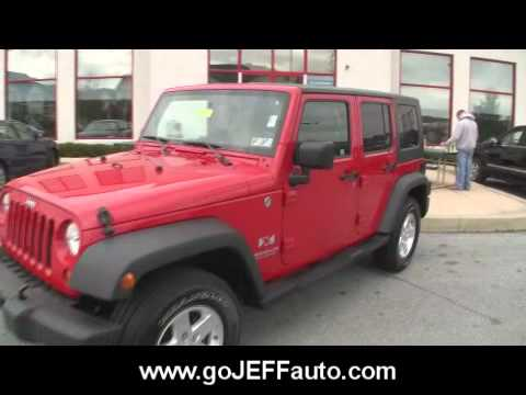 2007 jeep wrangler unlimited dual top jeff d 39 ambrosio auto group downingtown pa 19335 stock. Black Bedroom Furniture Sets. Home Design Ideas