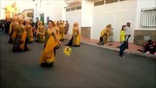 Desfile Moros y Cristianos, 27 de abril 2014, Cúllar  Granada  Segunda Parte