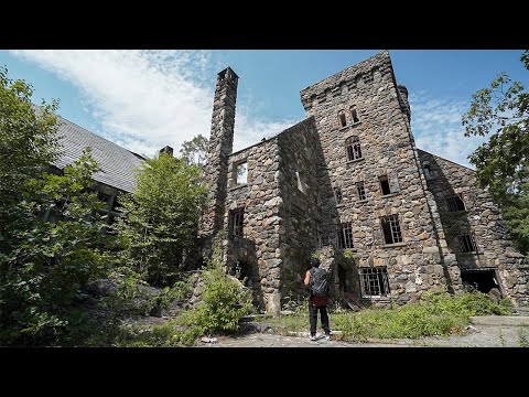 Abandoned Abercrombie & Fitch Billionaires Mansion Found Castle In The Middle of Nowhere