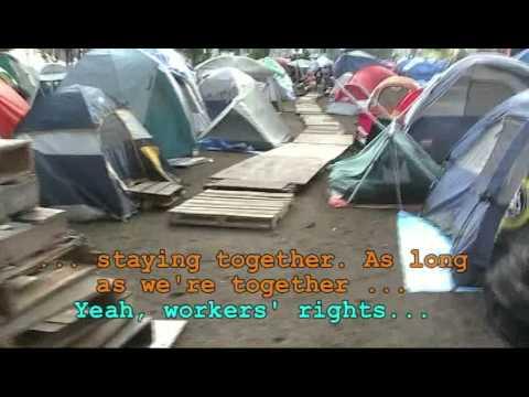 Urinetown - aka Occupy Boston, Oct. 11, 2011