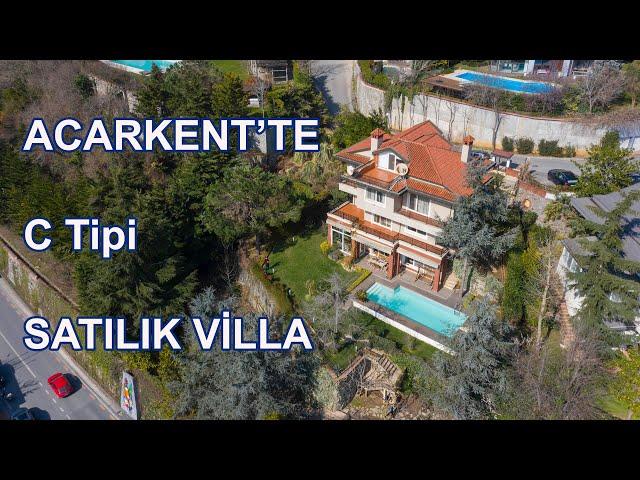 CB Baras İlknur Mutlu - Acarkent'te C Tipi Satılık Villa