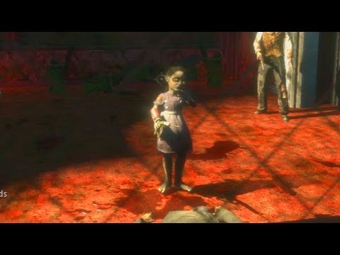 BioShock - Intro to Little Sisters - Gameplay