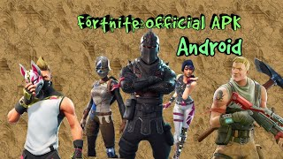 Fortnite Official Android APK download for all devices