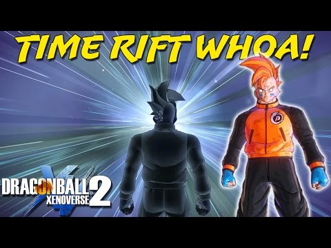 Exploring the Large Time Rifts! | Dragon Ball Xenoverse 2 Human Playthrough