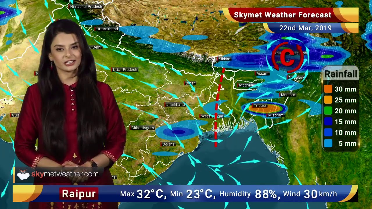 Weather Forecast March 22: Temperatures to rise in Northwest India, Rain in  Odisha   Skymet Weather