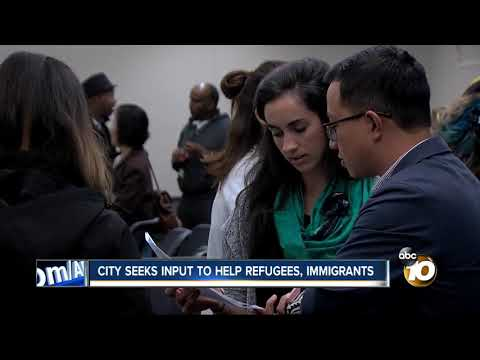 Immigrants and refugees in San Diego give input for city program