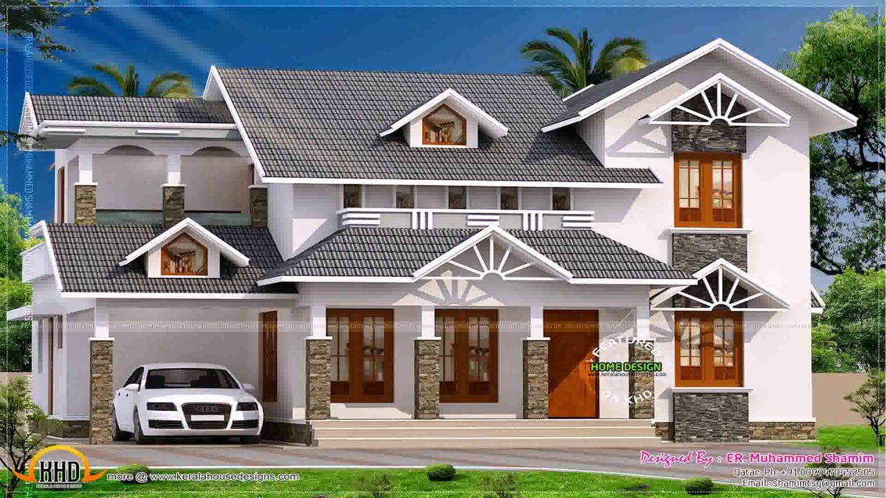 New Home Design Trends In Kerala Youtube