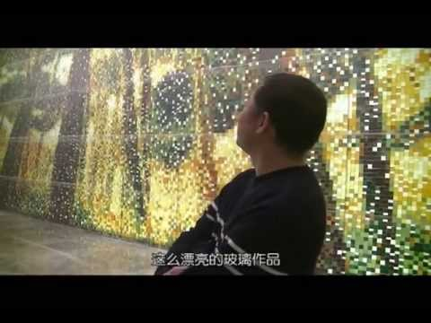 "Mandarin Oriental Pudong, Shanghai: 71,459 Glass Tiles To Make ""Sound of Wind"""