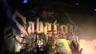 Sabaton - Thessaloniki 31-1-2015 ( Intro [final count down] + Ghost Division