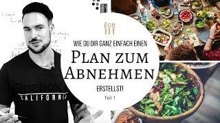 [Abnehmen Ernährungsplan] - So erstellst Du dir ganz einfach einen Ernährungsplan zum Abnehmen Teil1