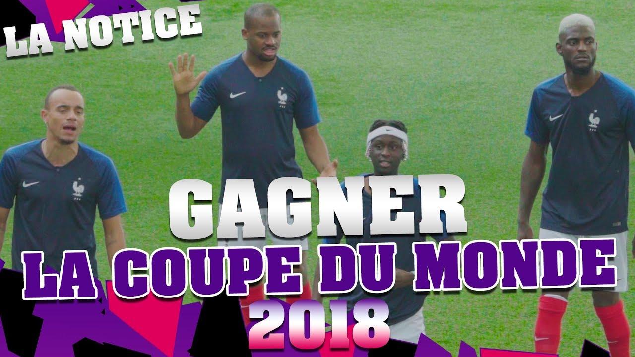 LA NOTICE - GAGNER LA COUPE DU MONDE 2018