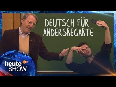 Dietmar Wischmeyer über den dummen deutschen Abiturienten | heute-show vom 12.05.2017
