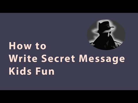 How to Write Secret Message Using Soap - Magic with Soap | kids experiment in jam with kicha