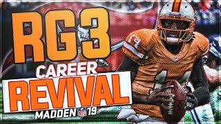 RG3 BECOMES A CINDERELLA STORY! | ROBERT GRIFFIN III MADDEN 19 CAREER REVIVAL