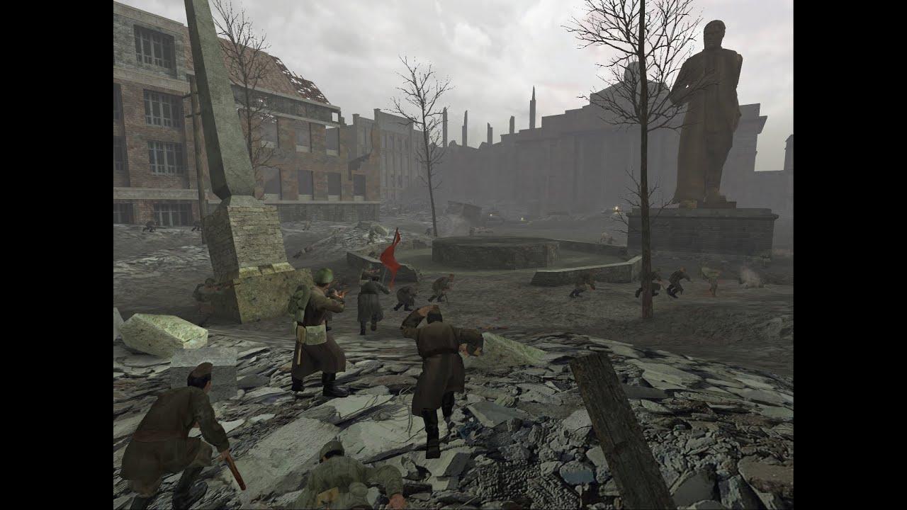 La plaza roja - Call of Duty 1 - YouTube