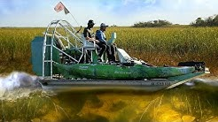 Airboat Ride in the Florida Everglades Among Alligators! w/ Scott Martin (Shotguns) | DALLMYD