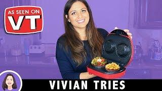 Electric Bacon Bowl Maker   Kitchen Gadget Review   As Seen on Vivian Tries