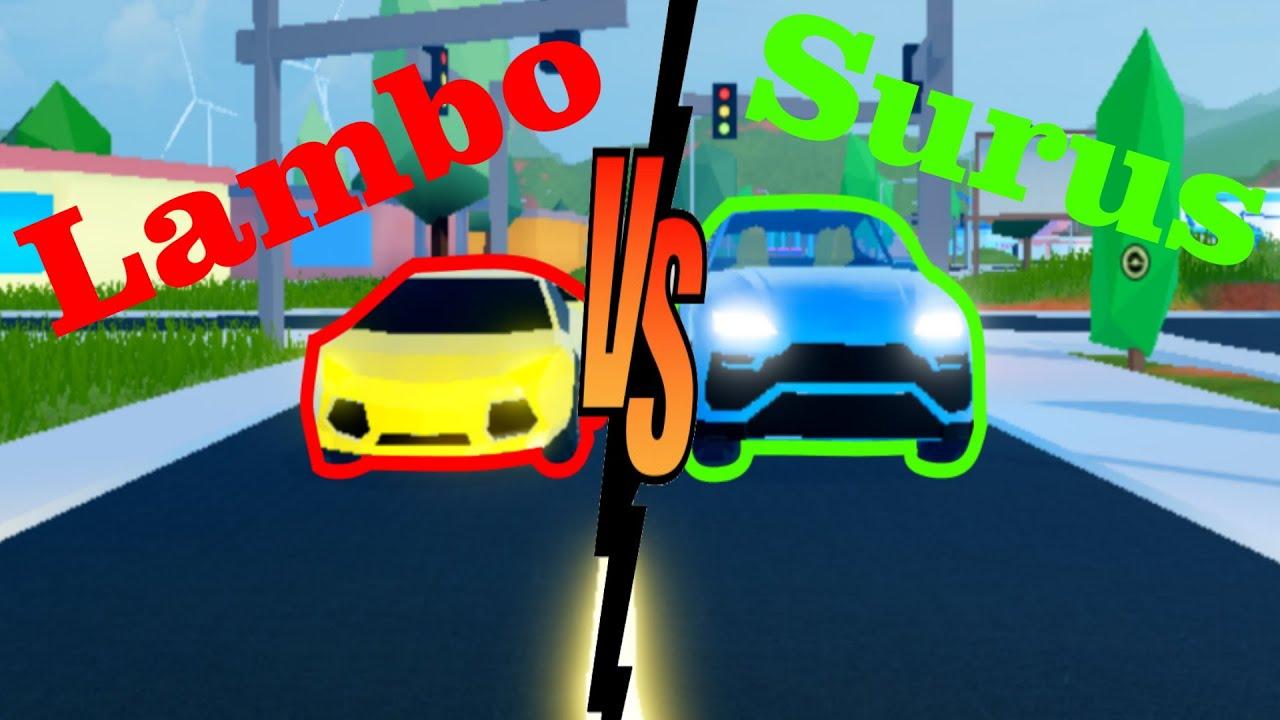 Download Surus vs Lamborghini FULL TEST!! | Roblox Jailbreak