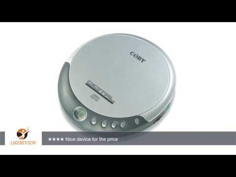 Coby CXCD109 Personal CD Player with Stereo Headphones, Silver | Review/Test