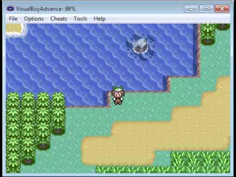 วิธีตก feebas (Pokemon emerald)