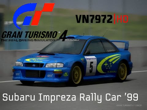 Gt4 Hd Replays Subaru Impreza Rally Car 99 Youtube