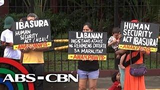 Bandila: 'Human Security Act', pinangangambahan