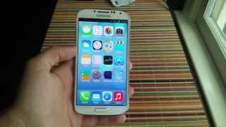how to get IOS 7 on android!!! (NO ROOT)